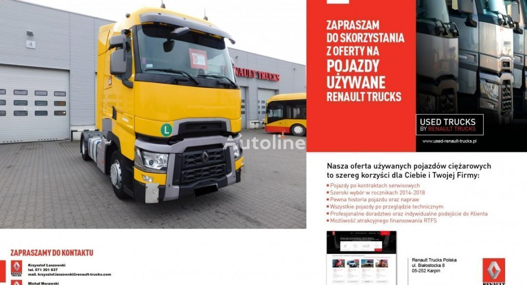 RENAULT T High tractor unit