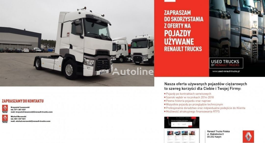 RENAULT T480  tractor unit