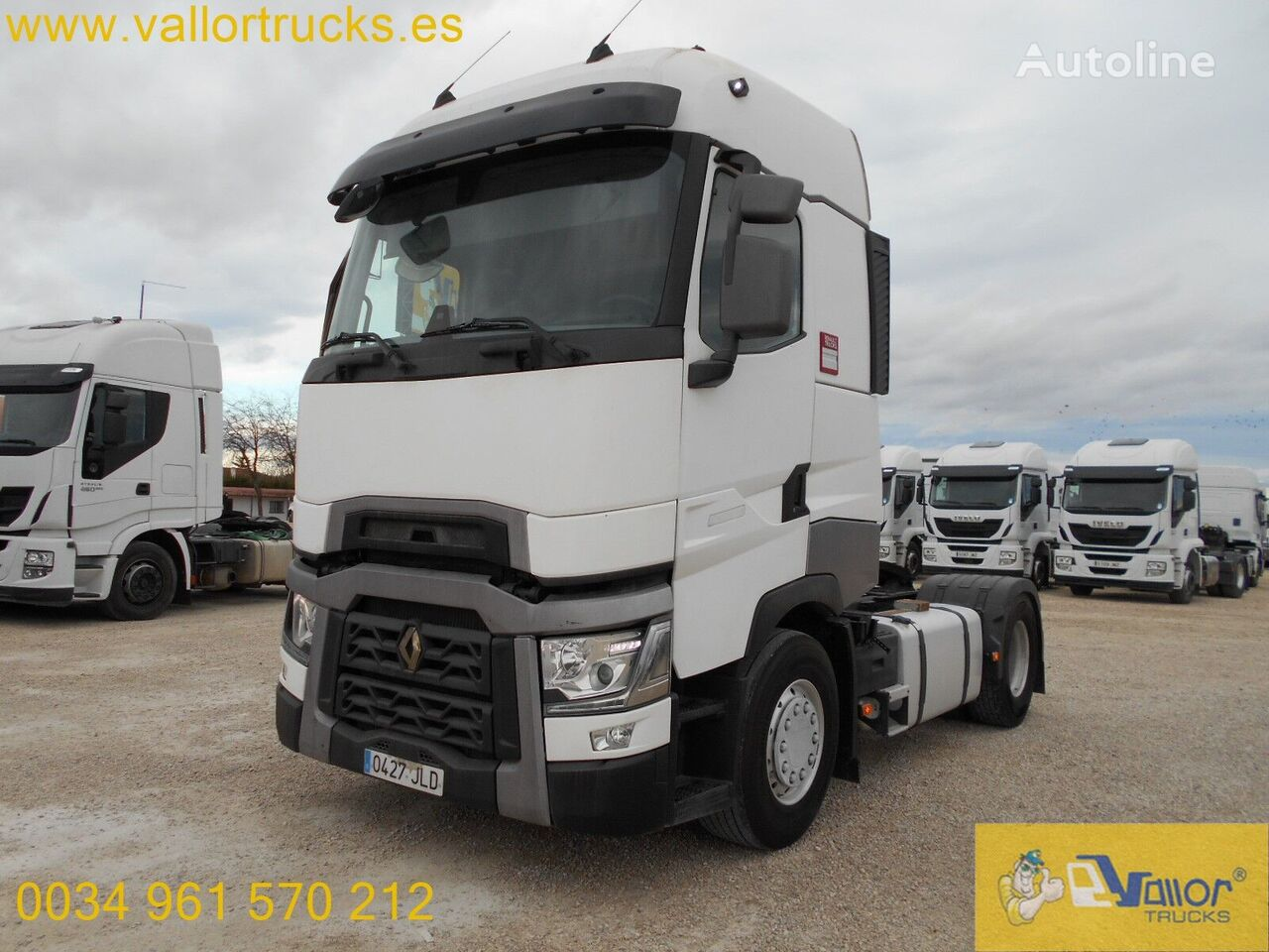 RENAULT T520 tractor unit