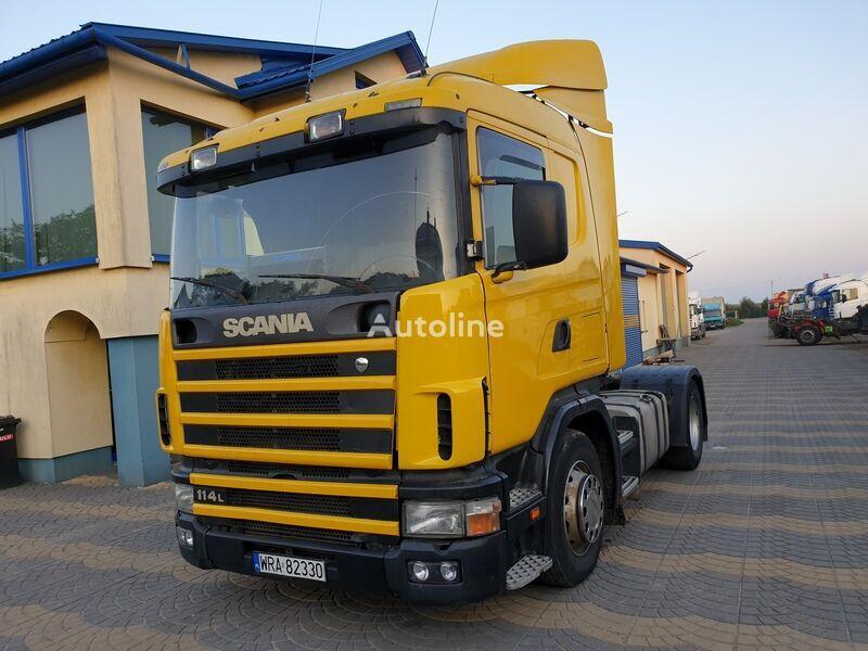 SCANIA 114L380 CR19 Perfect tractor unit