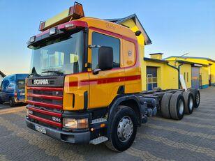 SCANIA 124L400 8x4, 6x4 tractor unit