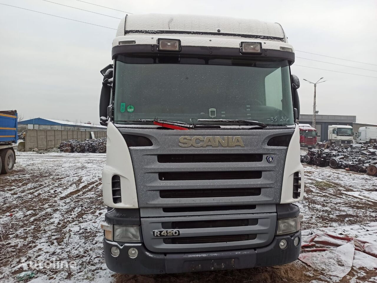 SCANIA 124R 420KM MANUAL tractor unit