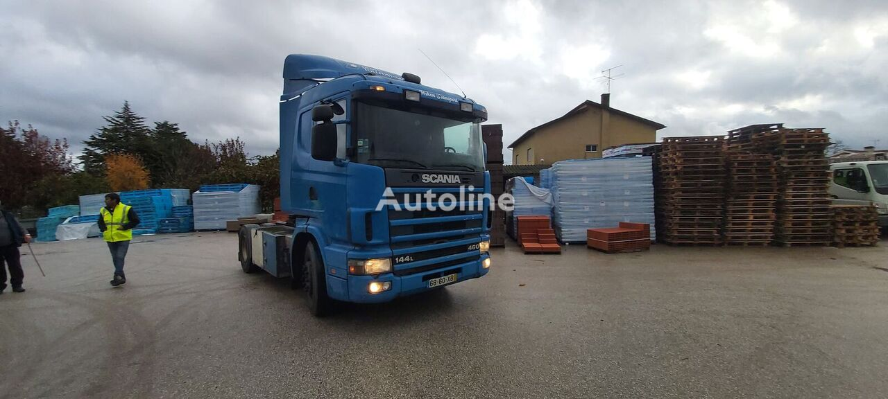 SCANIA 144 tractor unit