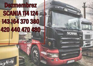 SCANIA  370 ,420, 440r 470 480 L 112 113 Piese Dezmembrari tractor unit for parts
