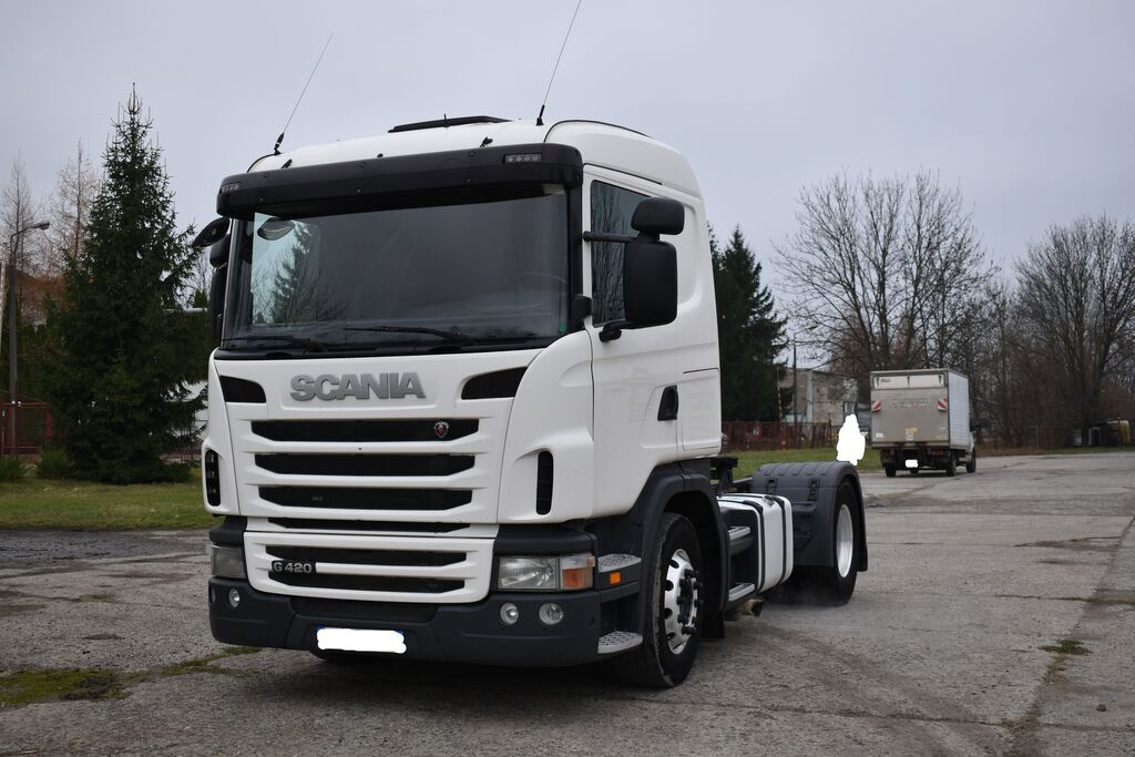 SCANIA G 420 z Francji/Retarder tractor unit