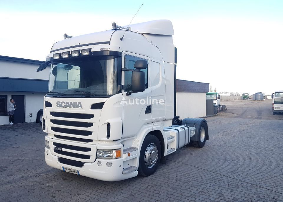 SCANIA G 440-PDE tractor unit
