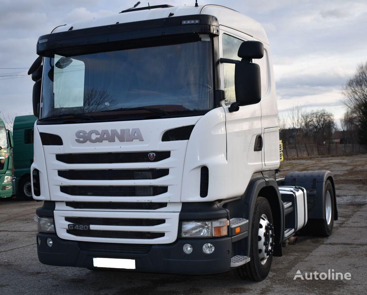 SCANIA G420 2012 rok euro 5 z Francji/retarder tractor unit