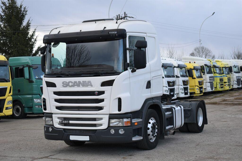 SCANIA G420 Euro 5 z Francji / Retarder tractor unit