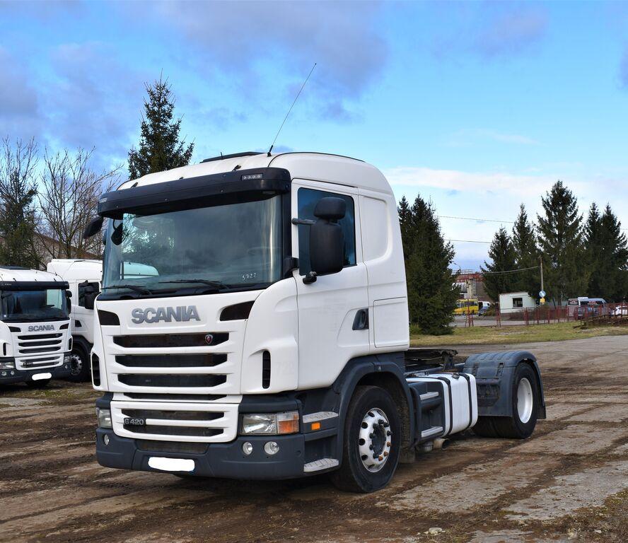 SCANIA G420 euro 5 z Francji/retarder tractor unit