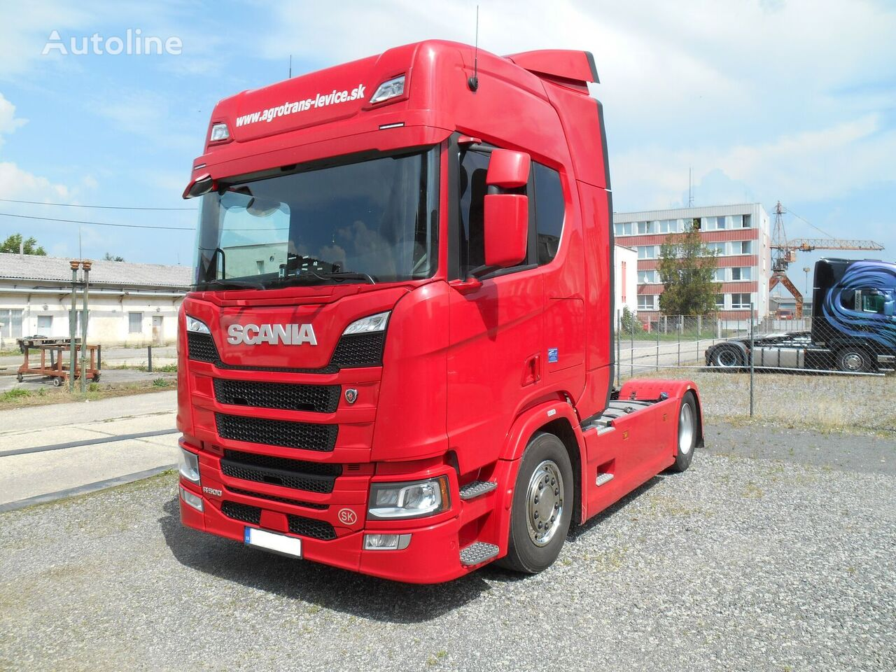 SCANIA IR  LER-500 ONLY SCR  FULL AD HEADLIGHTS tractor unit