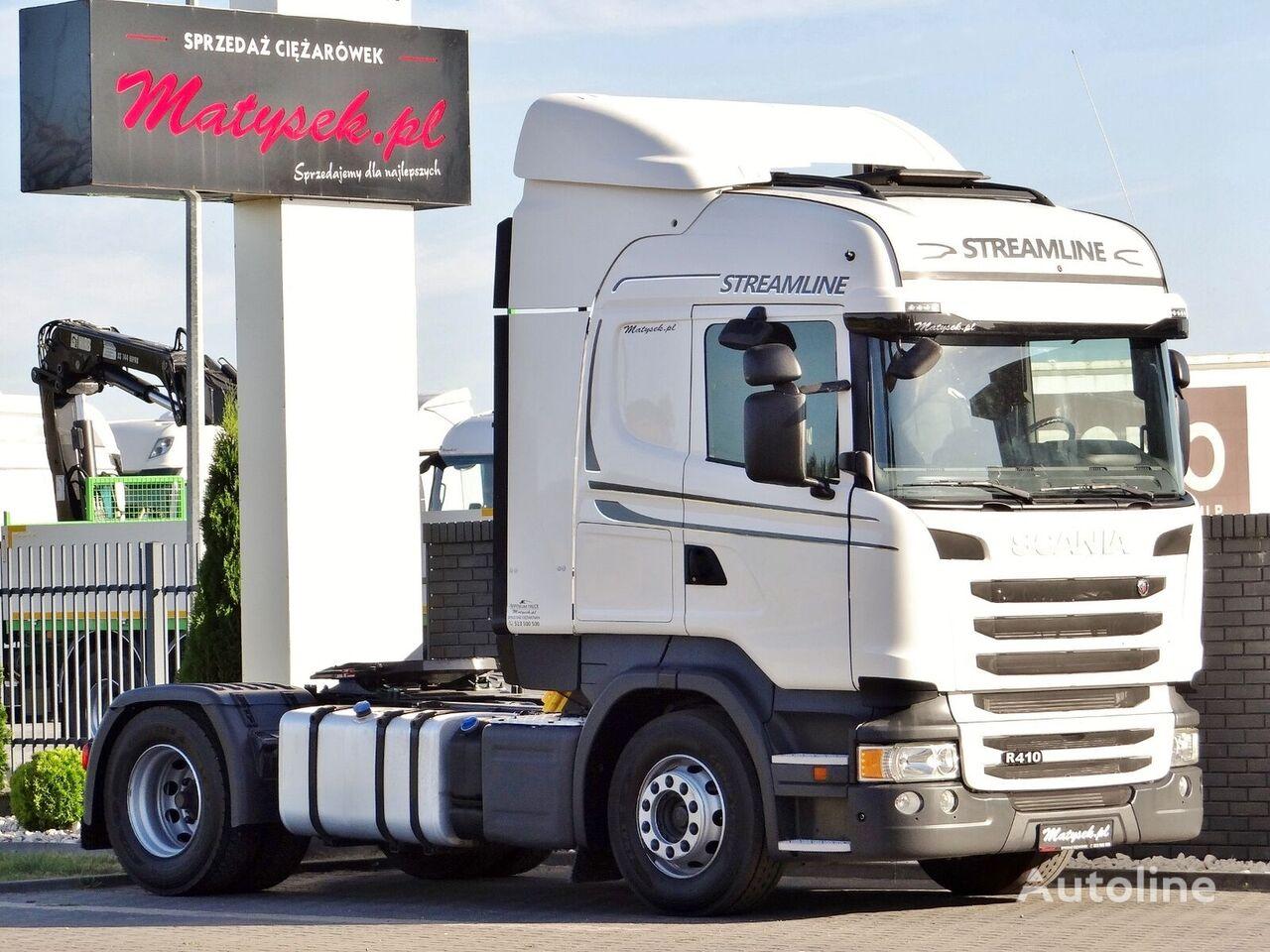 SCANIA R 410 / EURO 6 WITHOUT EGR / RETARDER / AUTOMATT / tractor unit