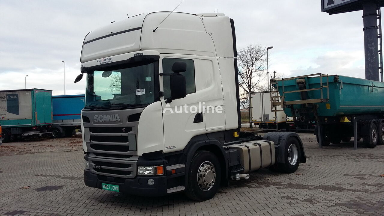 SCANIA R 410 German brief TOPLINE RETARDER  tractor unit