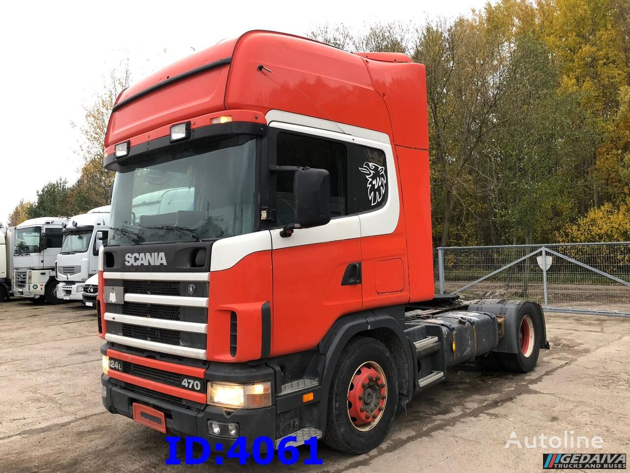 SCANIA R 470 4x2 tractor unit
