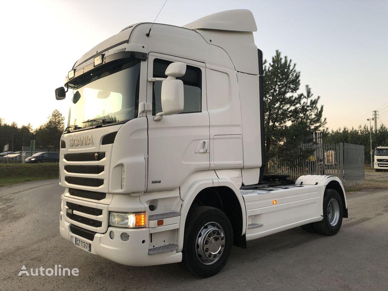 SCANIA R 480KM Euro 6 z adblue Sprowadzony tractor unit