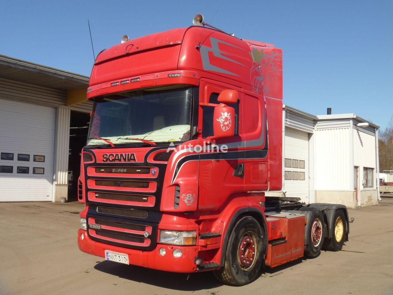 SCANIA R 500 LA6X2 tractor unit