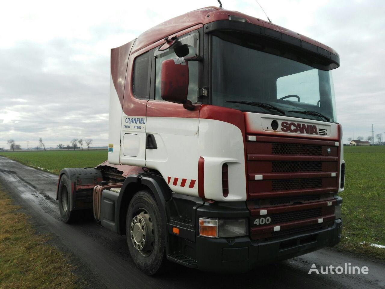 SCANIA R124 400 tractor unit