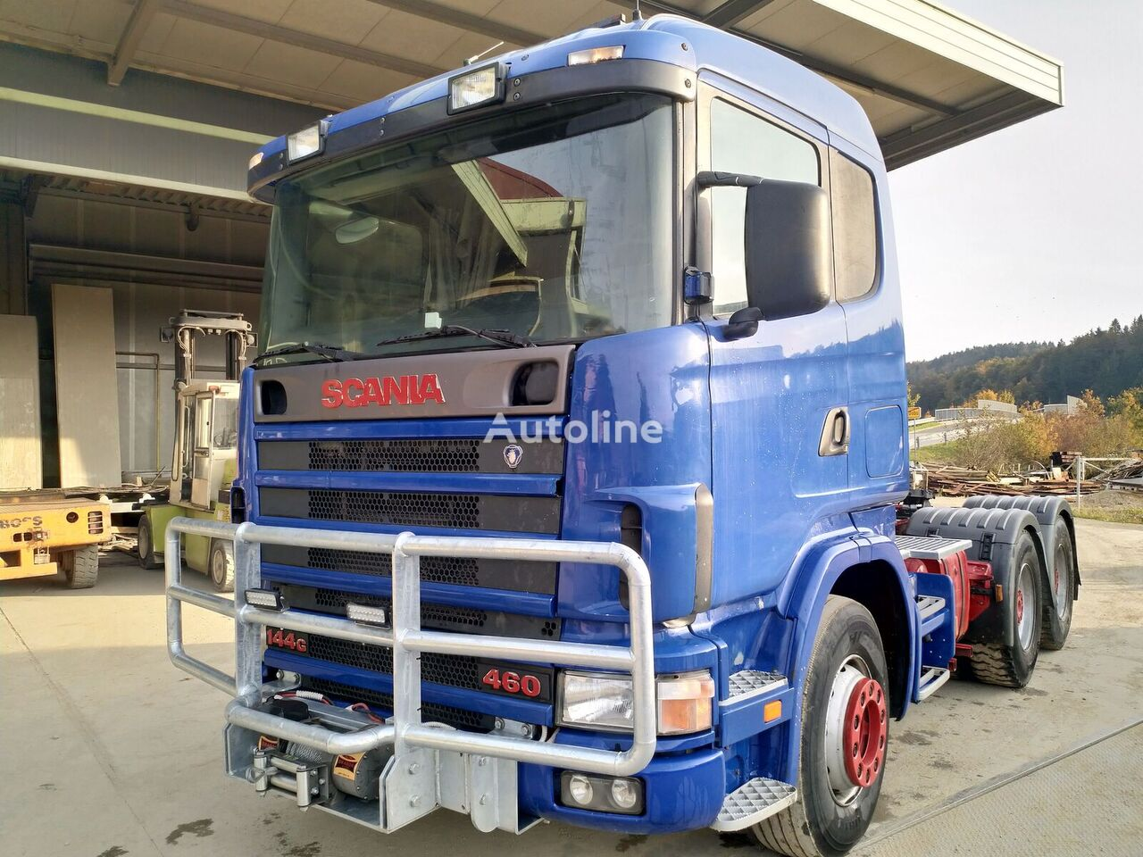 SCANIA R144 460 tractor unit