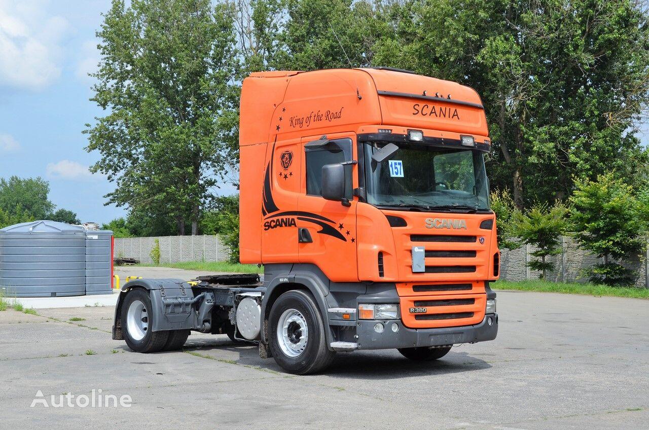 SCANIA R380 2007 AC tractor unit