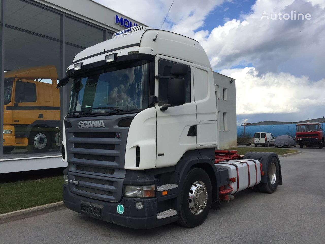 SCANIA R400 EURO5 INTARDER tractor unit