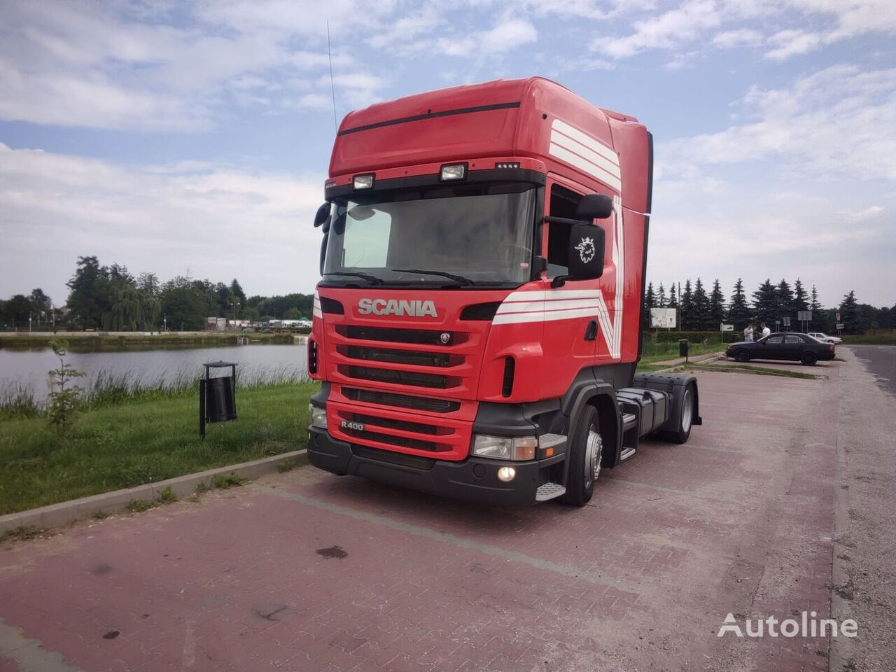 SCANIA R400 LOW DECK tractor unit