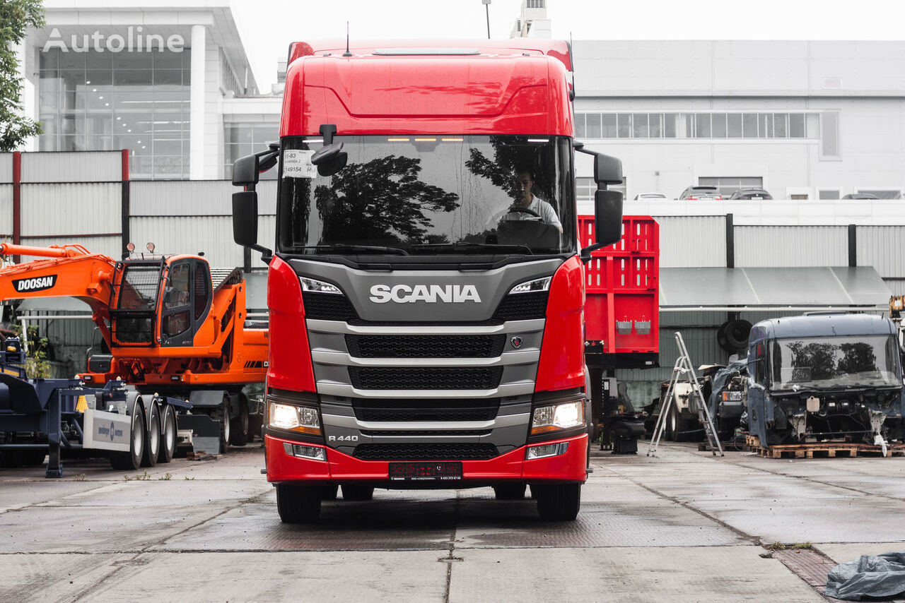 new SCANIA R440 tractor unit