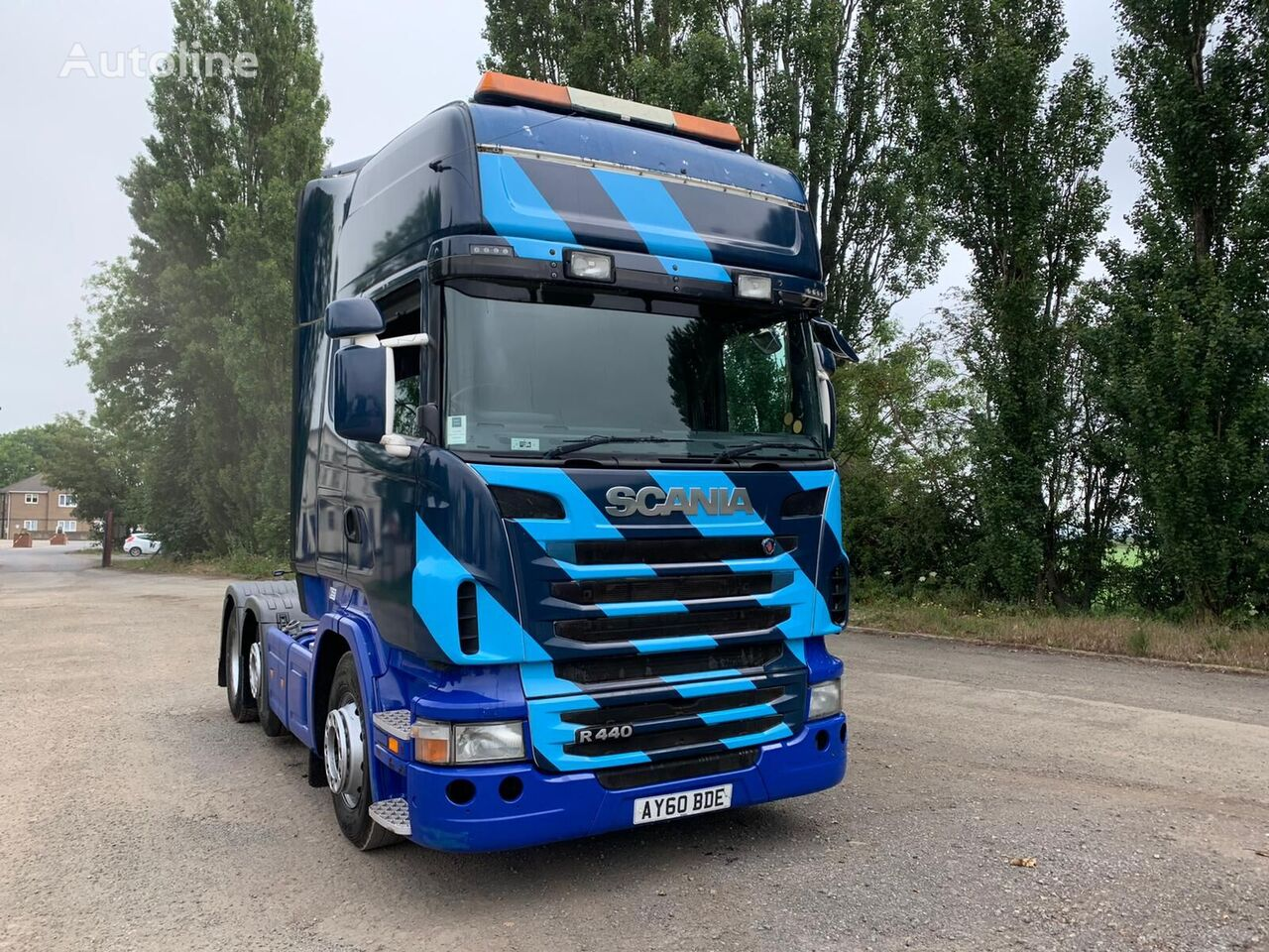 SCANIA R440 tractor unit