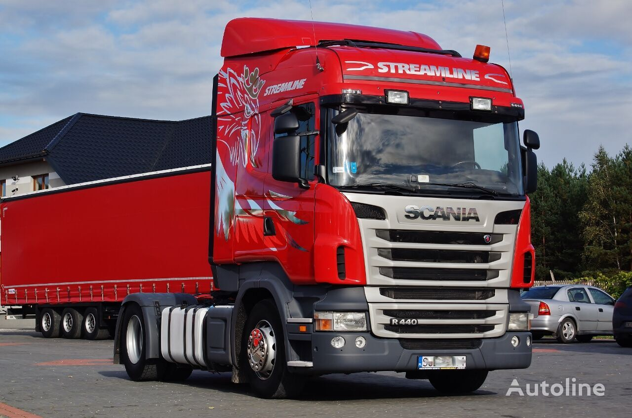 SCANIA R440 EURO 5 PDE ADBLUE / RETARDER / MANUAL / 2013 tractor unit