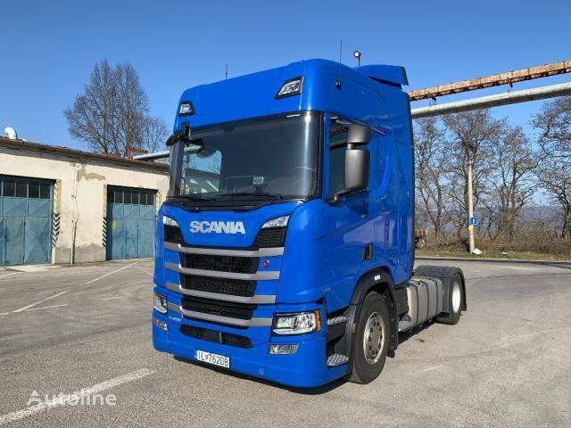 SCANIA R450 TOP LINE EURO 6 Retardér tractor unit