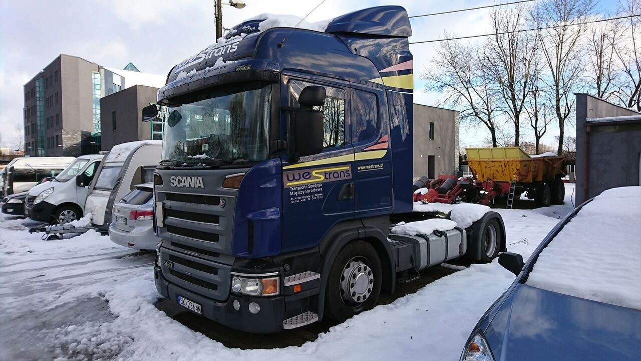 SCANIA R480 MEGA /LOW DECK RETARDER XENON 2008 tractor unit