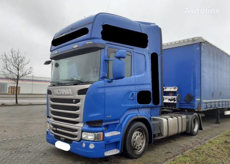 SCANIA R490 low deck mega 2014 z Niemiec Naci duże kotły 580Tkm tractor unit