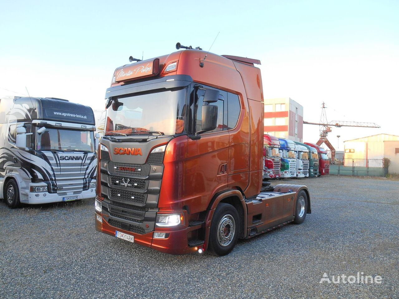 SCANIA S-520 EXCLUSIVE  FULL AIR tractor unit