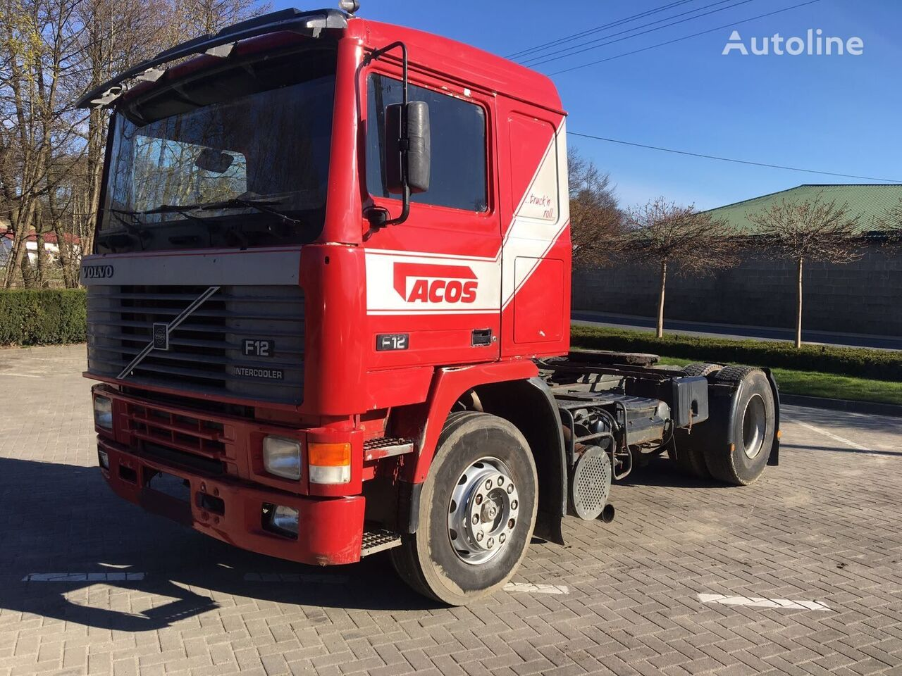 VOLVO F12 360 TD122FH tractor unit