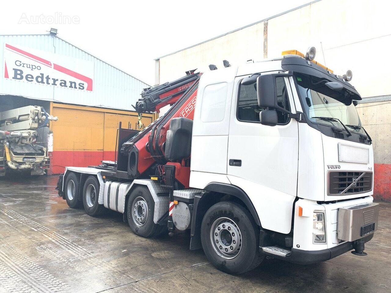 VOLVO FH 12  500CV FASSI 1100 tractor unit