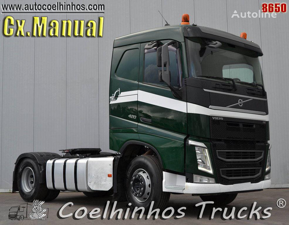 VOLVO FH 420 // Cx:Manual tractor unit