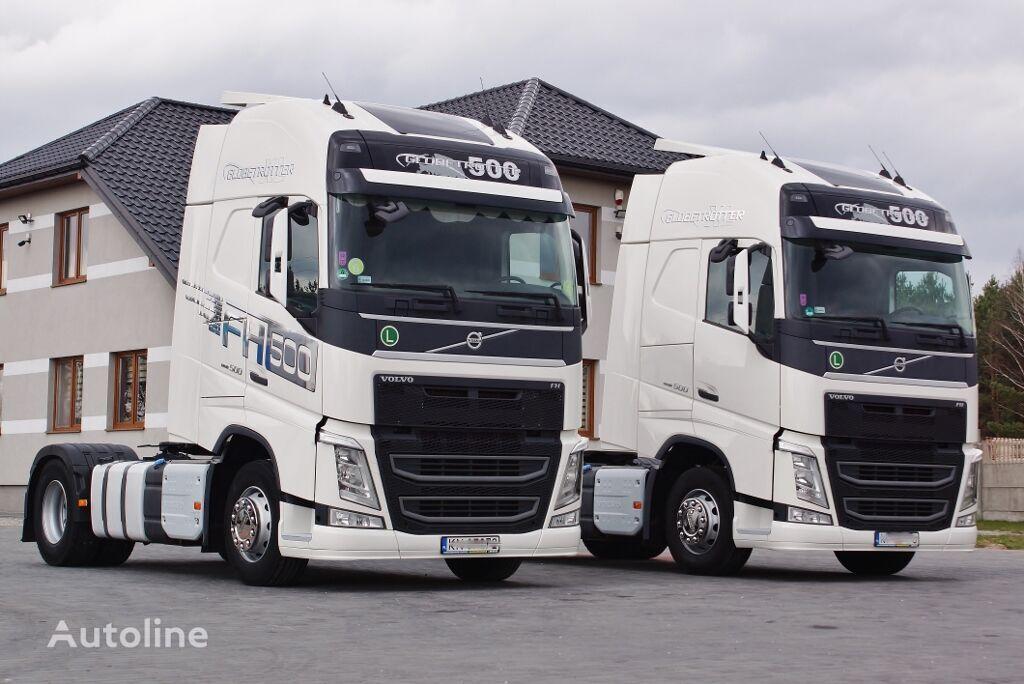VOLVO FH 500 GLOB XXL EURO 6 STANDARD * PERFECT* 2014/2015 tractor unit