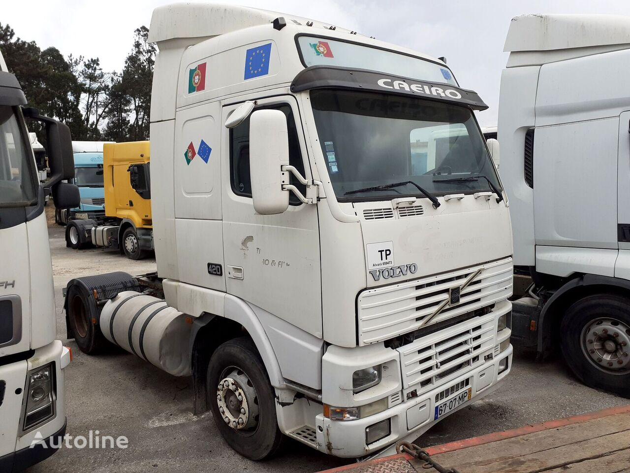 VOLVO /FH12 420 Globetrotter/ tractor unit