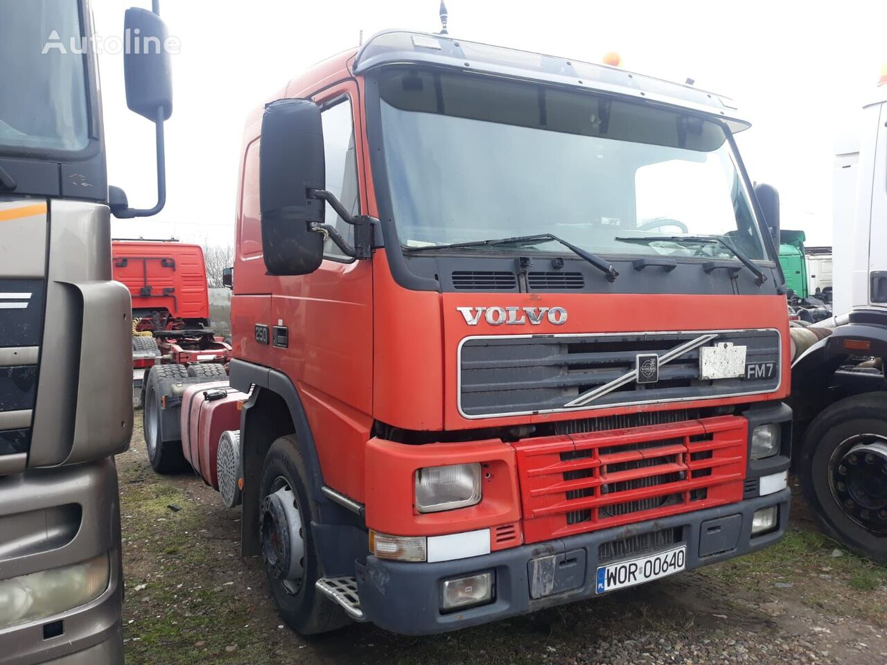 VOLVO FM7, 250KM, MANUAL tractor unit
