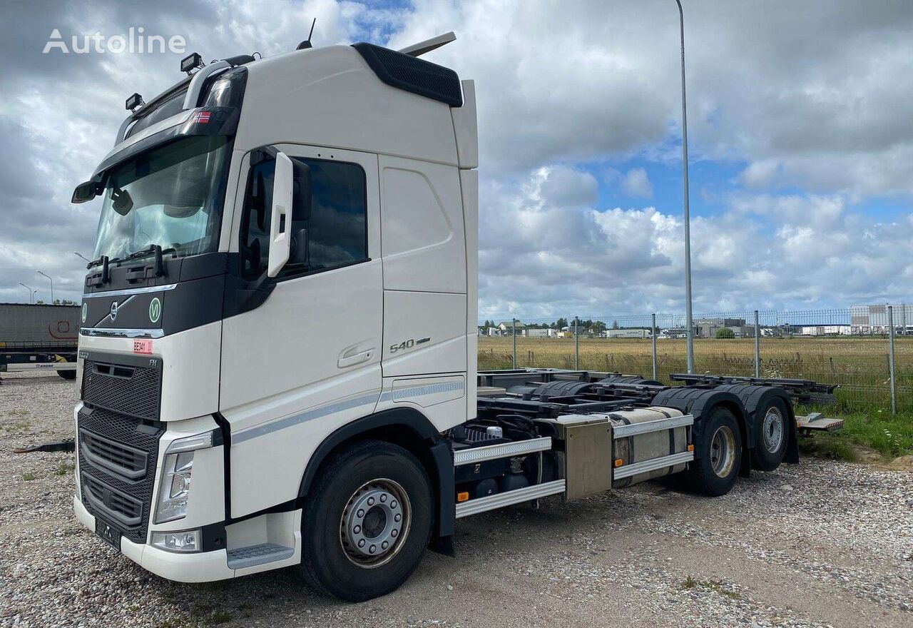 VOLVO XL FH540 6x2 Container tractor unit
