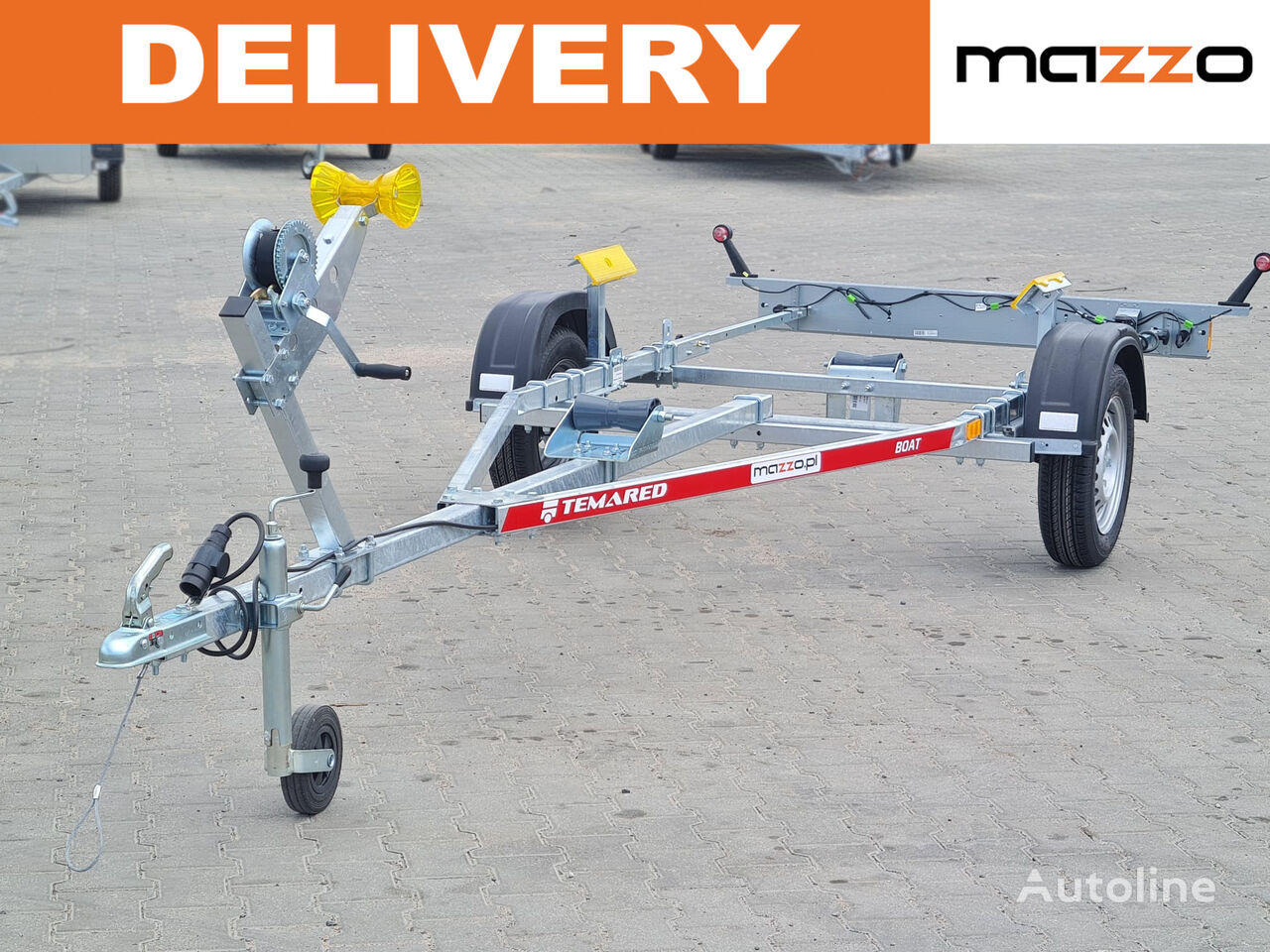 new B05/17 Max boat length up to 4.3m! boat trailer