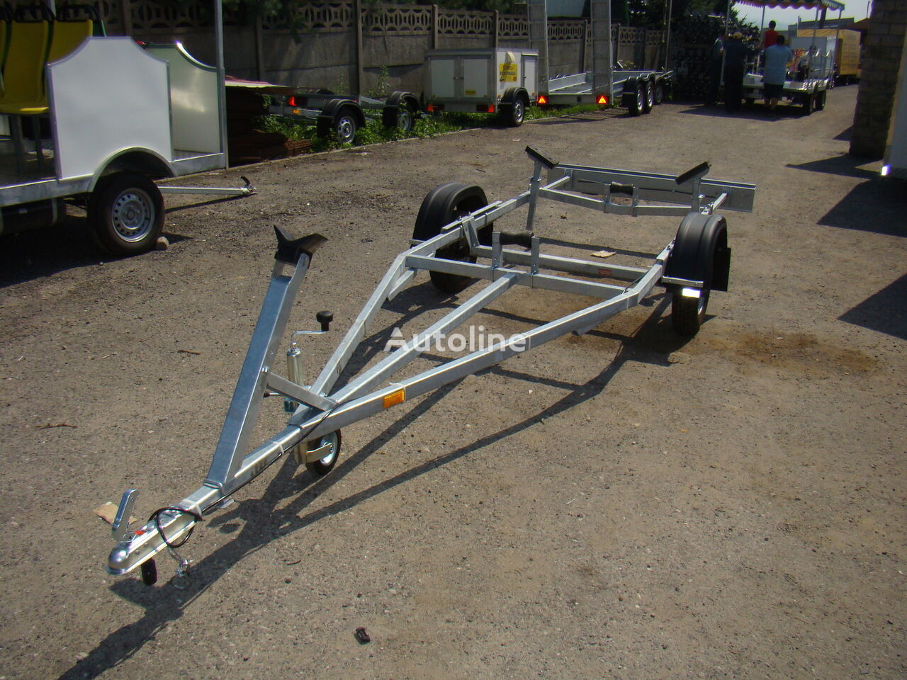 new Stopexim boat trailer