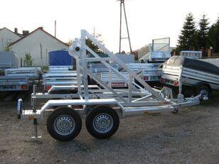 new TA-NO Przyczepa Tano do przewozu kabli kablowa bęben cable trailer