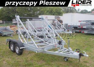 new LIDER trailers LT-052 przyczepa 305x195cm, kablowa do przewozu bębna,  cable trailer