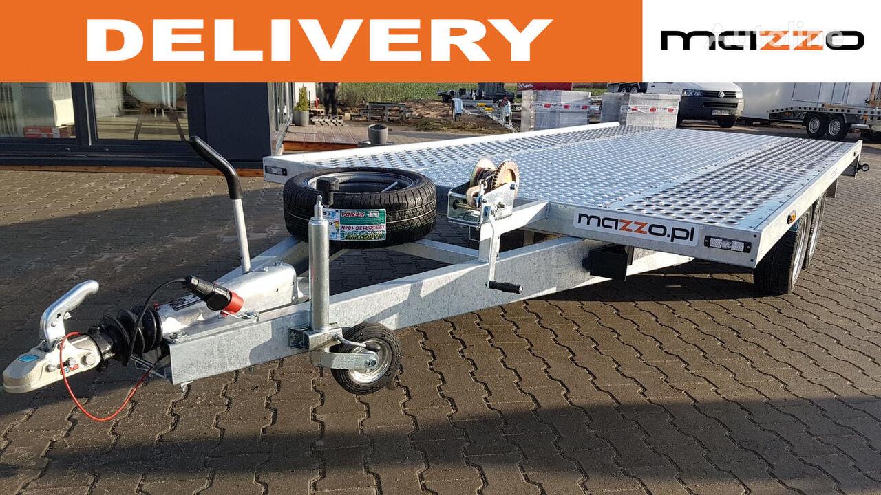 new 450x204cm LED! PLATFORM 2700kg car transporter trailer