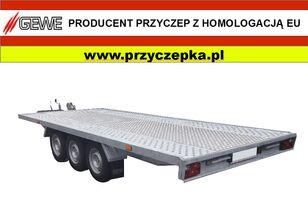 new GEWE Laweta 3 osiowa B3500 A/1  car transporter trailer
