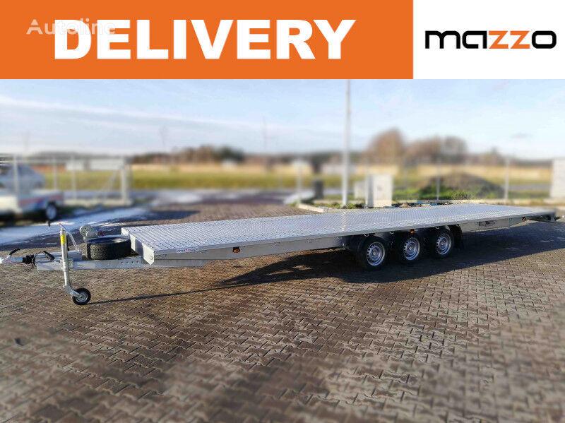 new I8035 800x210cm GVW 3500kg platform  car transporter trailer