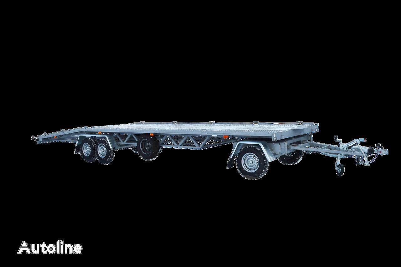 new LEV Lvica car transporter trailer