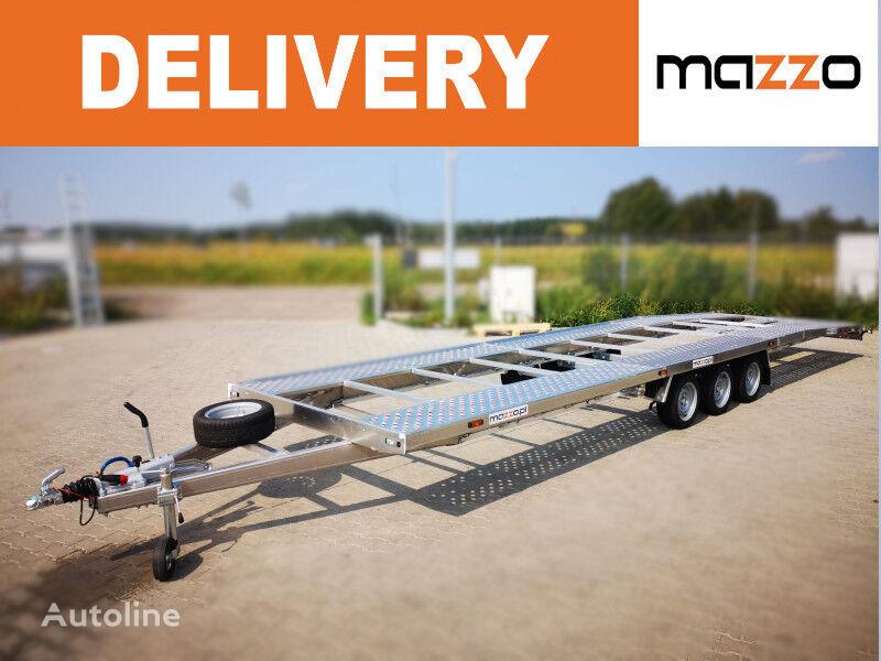 new Lightweight Only 670kg! 8.5m full ALU trailer for two cars 3500k car transporter trailer