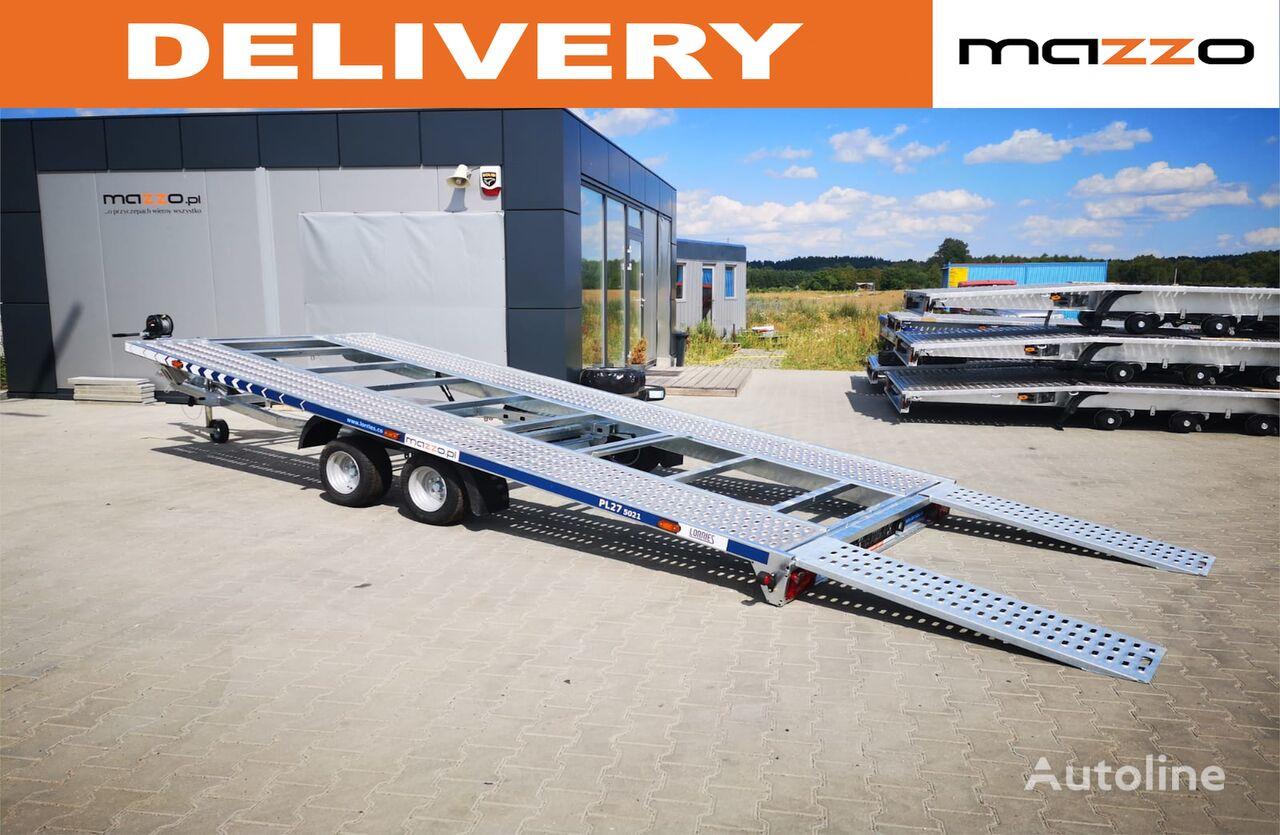 new PL27-5021  500x210cm 2700kg! Tilted car transporter trailer