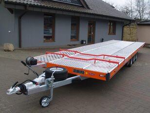 new TA-NO Autotransporter TRIO 35.85FT PREMIUM car transporter trailer