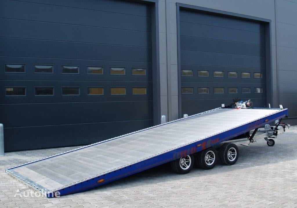 new TA-NO FORMULA 35.60 PREMIUM car transporter trailer
